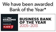 Bank of the year 2012