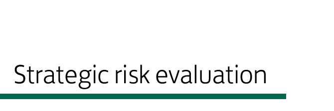 Strategic-risk-evaluation