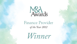 Finance Provider of the Year 2012