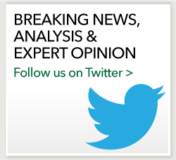Follow us on Twitter for Breaking News, Analysis & Expert Opinion