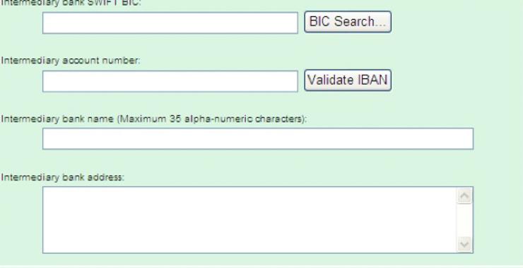 Field Description | LloydsLink online Support Centre